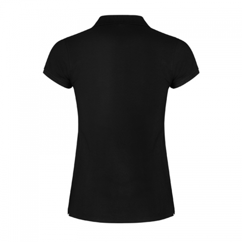 Polo Viator Barbarians Black Femenino