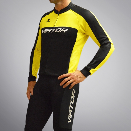 Maillot Beille ML Elite Guixop Yellow