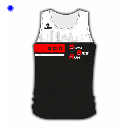Camiseta Atletismo Crono IM Barcelona