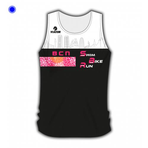 Camiseta Atletismo Crono Femenino IM Barcelona