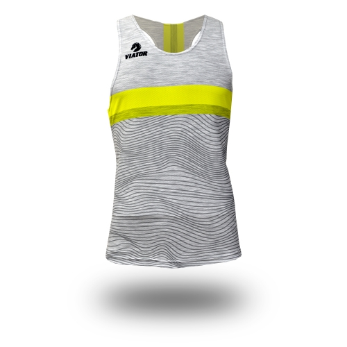 Camiseta Atletismo ProMax · Black/Grey/Green