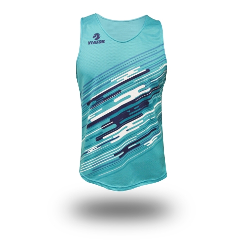 Camiseta Atletismo Hidra+ Team · Light Blue
