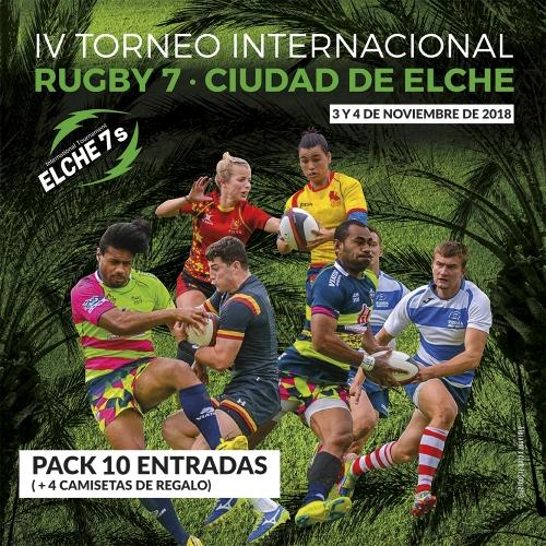 PACK 10 ENTRADAS + 4 CAMISETAS DE REGALO